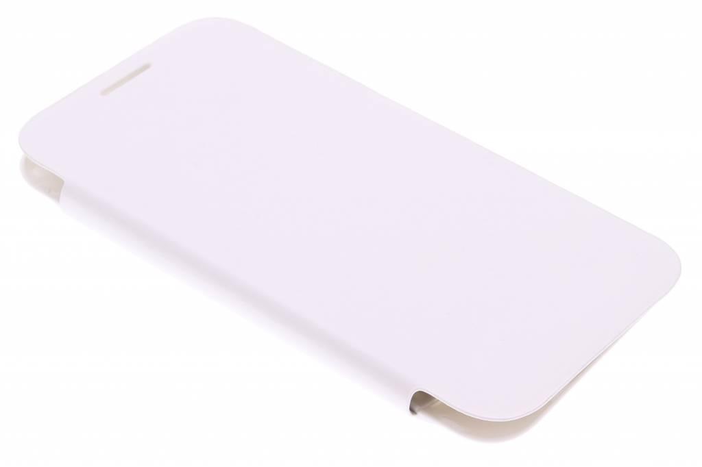 Witte flipcover voor de Samsung Galaxy Core Prime