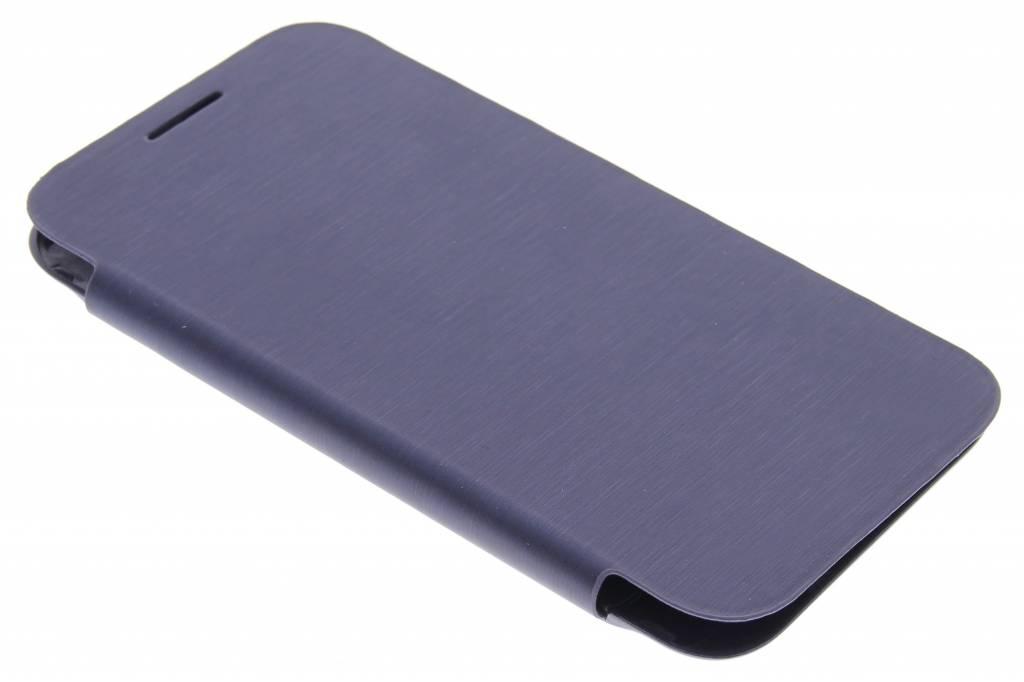 Donkerblauwe flipcover voor de Samsung Galaxy Core Prime