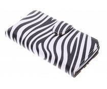 Zebra booktype hoes LG L Bello / L80 Plus