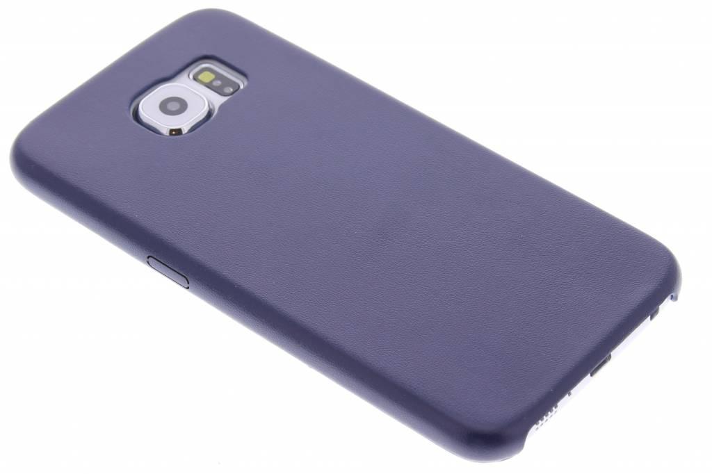 Donkerblauw flexibel TPU hardcase hoesje voor de Samsung Galaxy S6