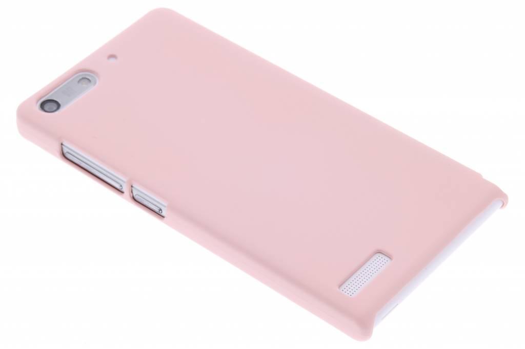 Poederroze pastel hardcase hoesje voor de Huawei Ascend G6