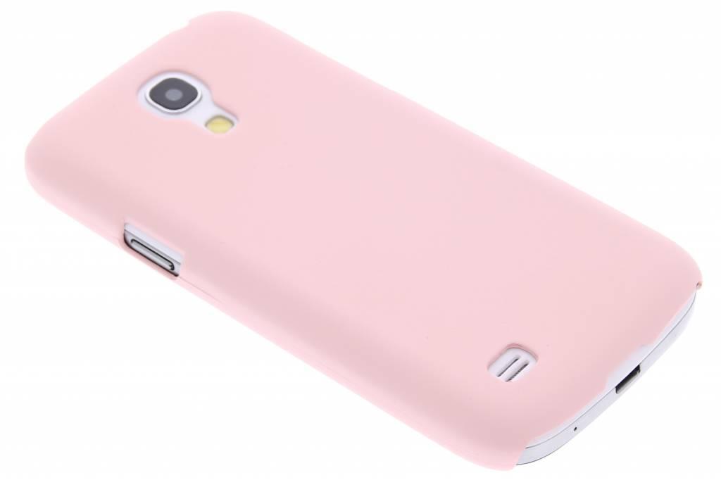 Poederroze pastel hardcase hoesje voor de Samsung Galaxy S4 Mini