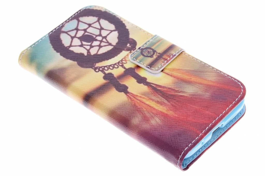 Dromenvanger design TPU booktype hoes voor de Samsung Galaxy Core Prime
