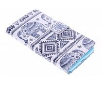 Design TPU booktype hoes Samsung Galaxy Grand Prime