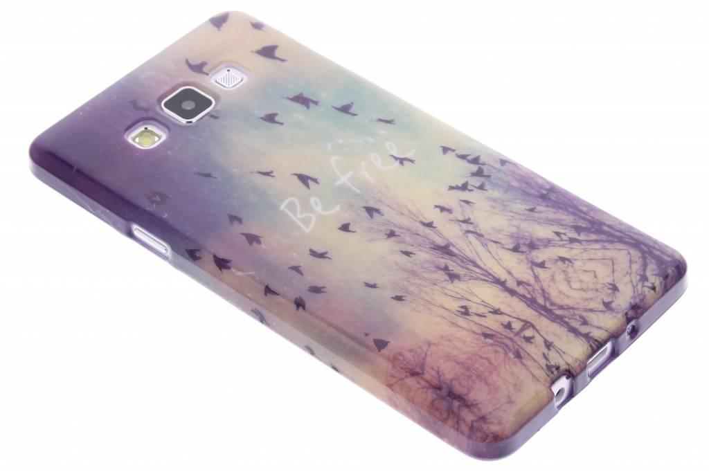 Be free design TPU siliconen hoesje voor de Samsung Galaxy A7