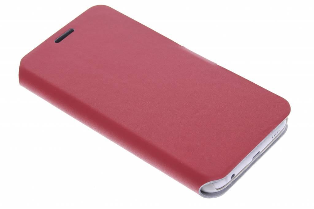 Rode stijlvolle booktype hoes voor de Samsung Galaxy S6