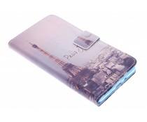 Design TPU booktype hoes Samsung Galaxy A7