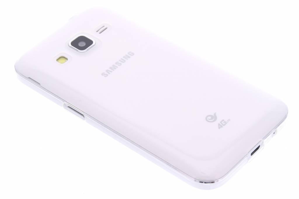 Ultra thin transparant TPU hoesje voor de Samsung Galaxy Core Prime