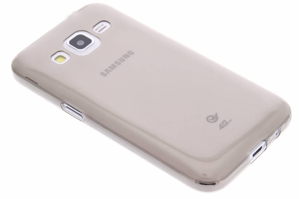 Grijs ultra thin transparant TPU hoesje voor de Samsung Galaxy Core Prime