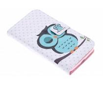 Design TPU booktype hoes LG L Bello / L80 Plus