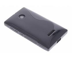 Zwart S-line TPU hoesje Microsoft Lumia 435 / 532