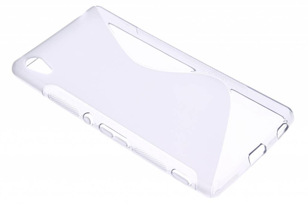 Grijs S-line TPU hoesje voor de Sony Xperia Z3 Plus