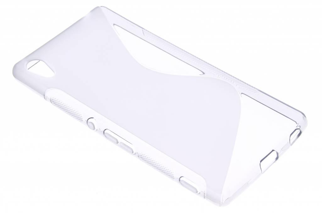 Transparant S-line TPU hoesje voor de Sony Xperia Z3 Plus