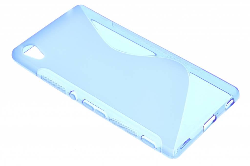 Blauw S-line TPU hoesje voor de Sony Xperia Z3 Plus