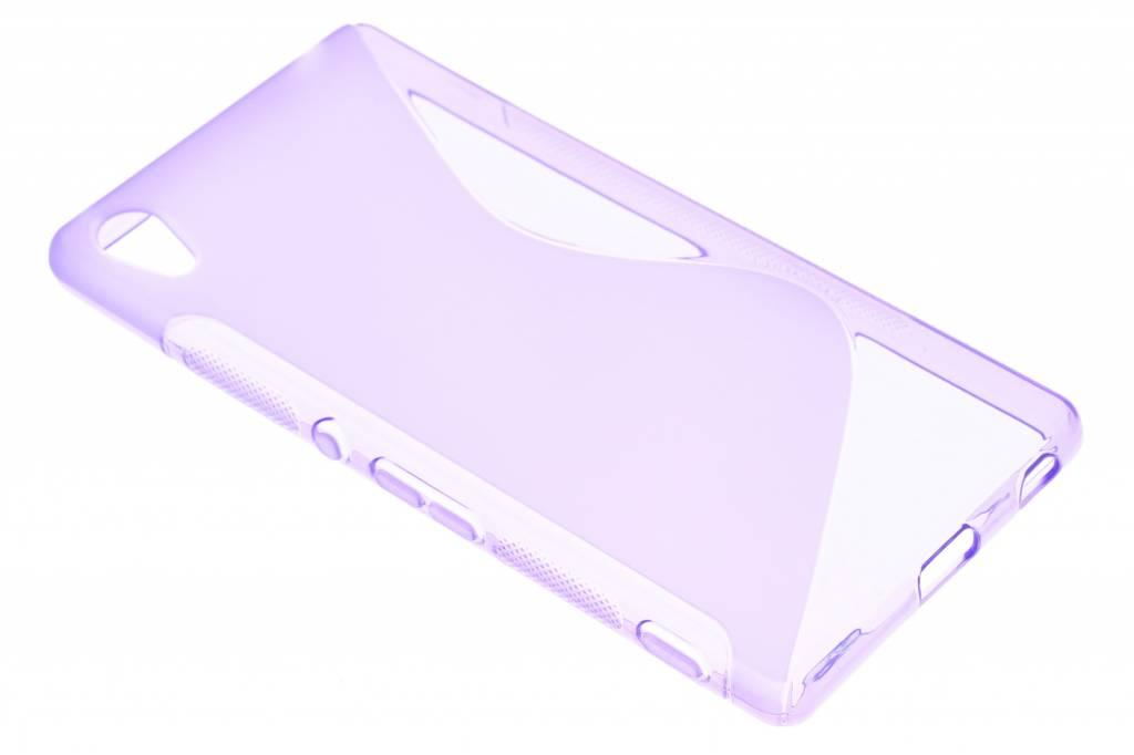Paars S-line TPU hoesje voor de Sony Xperia Z3 Plus