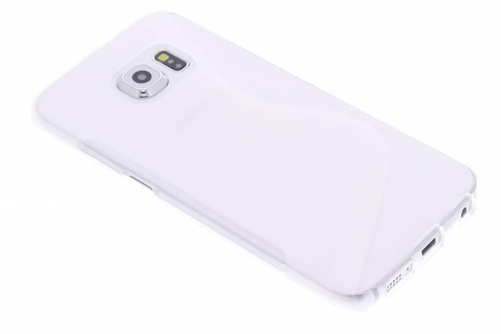 Transparant S-line TPU hoesje voor de Samsung Galaxy S6 Edge