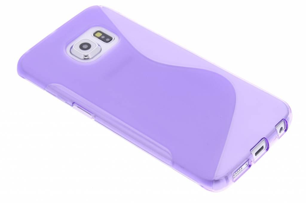 Paars S-line TPU hoesje voor de Samsung Galaxy S6 Edge