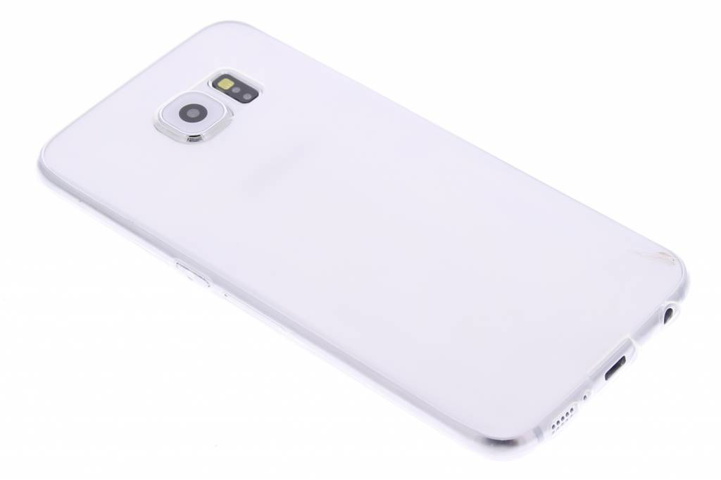 Ultra thin transparant TPU hoesje voor de Samsung Galaxy S6