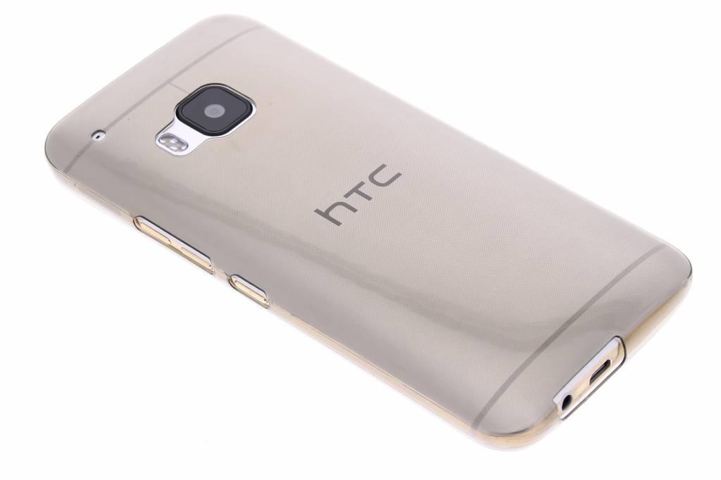 Grijs ultra thin transparant TPU hoesje voor de HTC One M9
