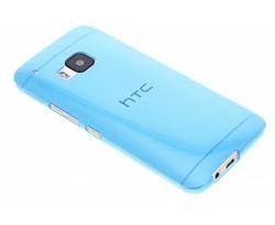 Blauw ultra thin transparant TPU hoesje HTC One M9