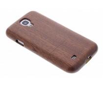 Echt houten hardcase Samsung Galaxy S4