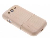 Echt houten hardcase Samsung Galaxy S3 / Neo