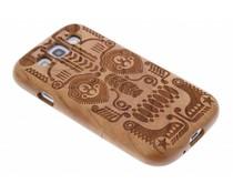 Houten hardcase met print Samsung Galaxy S3 / Neo