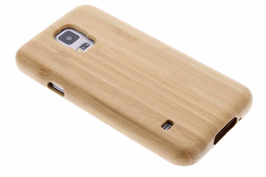 Echt houten hardcase hoesje voor de Samsung Galaxy S5 (Plus) / Neo