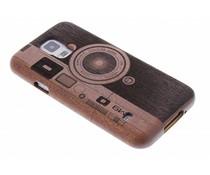 Echt houten hardcase Galaxy S5 (Plus) / Neo