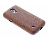 Echt houten hardcase hoesje Samsung Galaxy S4 Mini