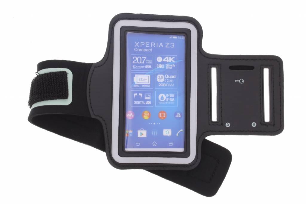 Zwarte sportarmband voor de Sony Xperia Z3 Compact