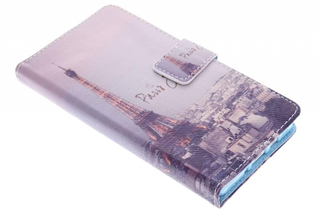 Parijs design TPU booktype hoes voor de Samsung Galaxy A5