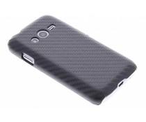 Carbon look hardcase hoesje Samsung Galaxy Trend 2 (Lite)