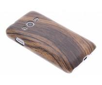 Hout design hardcase hoesje Samsung Galaxy Trend 2 (Lite)