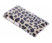Luipaard design hardcase hoesje Nokia Lumia 530