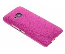 Fuchsia glamour design hardcase hoesje HTC One M9