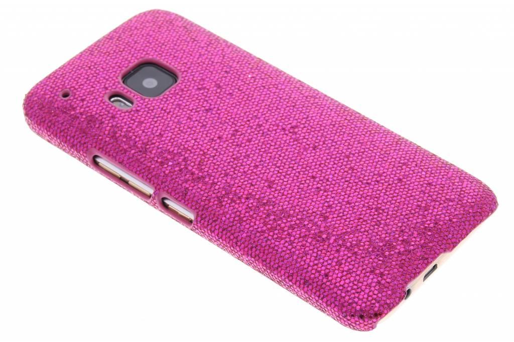 Fuchsia glamour design hardcase hoesje voor de HTC One M9