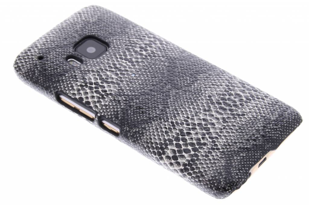 Zwart slangen design hardcase hoesje voor de HTC One M9