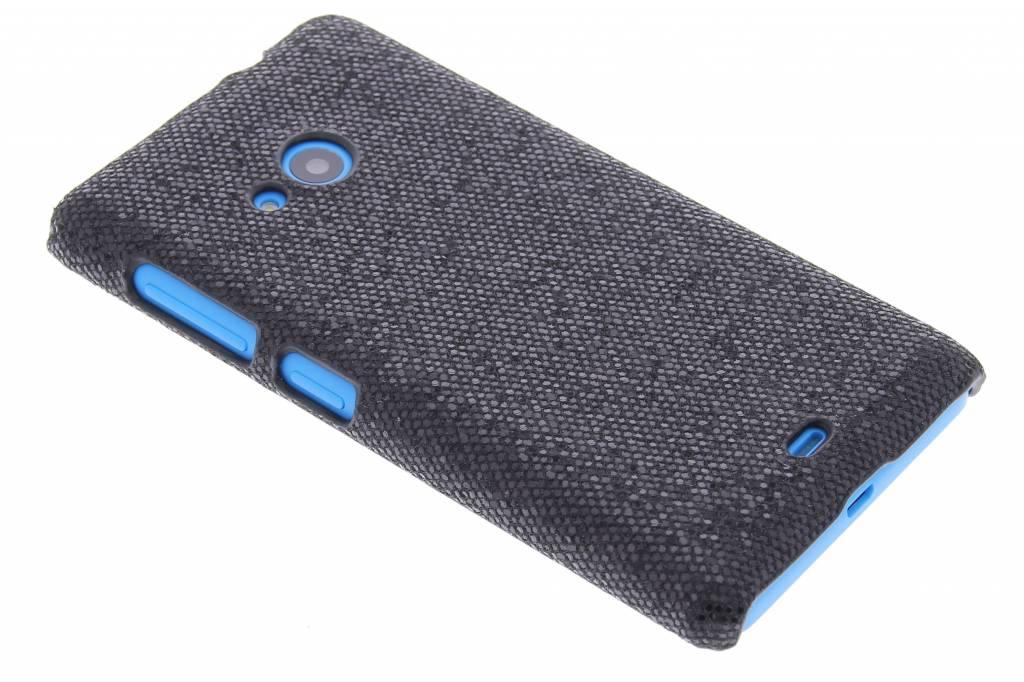 Zwart glamour design hardcase hoesje voor de Microsoft Lumia 535