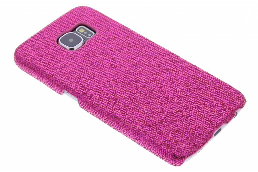 Fuchsia glamour design hardcase hoesje voor de Samsung Galaxy S6