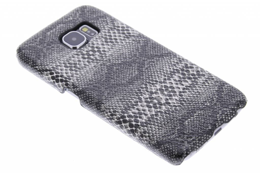 Zwart slangen hardcase hoesje voor de Samsung Galaxy S6