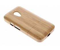 Echt houten hardcase Motorola Moto G 2nd Gen 2014