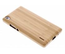Echt houten hardcase Huawei Ascend P7