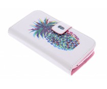 Design TPU booktype Alcatel One Touch Pop C5