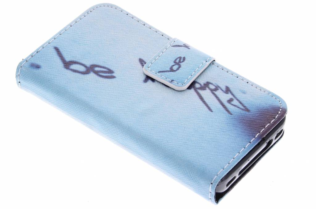 Be happy design TPU booktype hoes voor de iPhone 4 / 4s