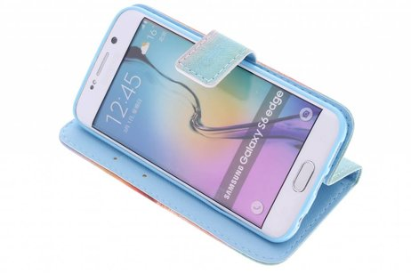 Hiboux Conception Booktype Cas De Tpu Pour La Mini-samsung Galaxy S GlCQe