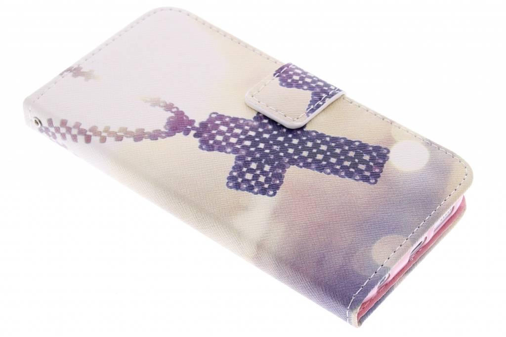 Kruis design TPU booktype hoes voor de Samsung Galaxy S6 Edge