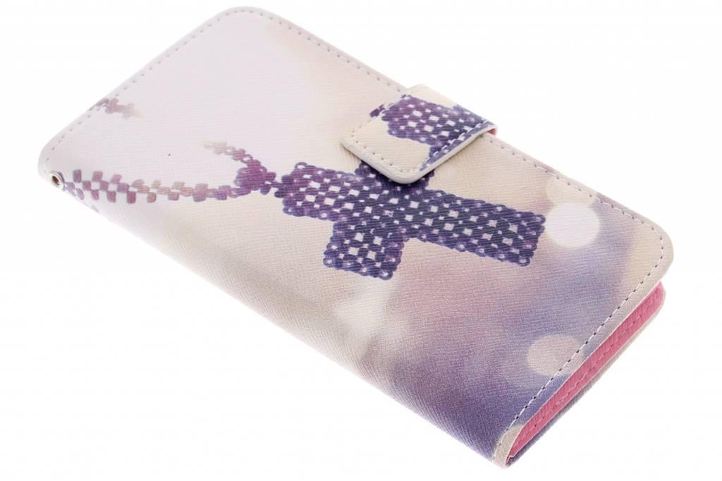 Kruis design TPU booktype hoes voor de Samsung Galaxy A5