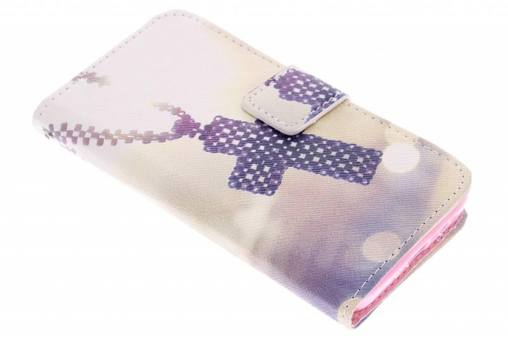 Kruis design TPU booktype hoes voor de Samsung Galaxy A3