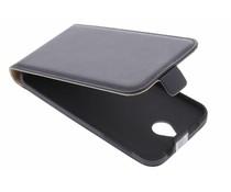 Zwart luxe flipcase HTC Desire 510
